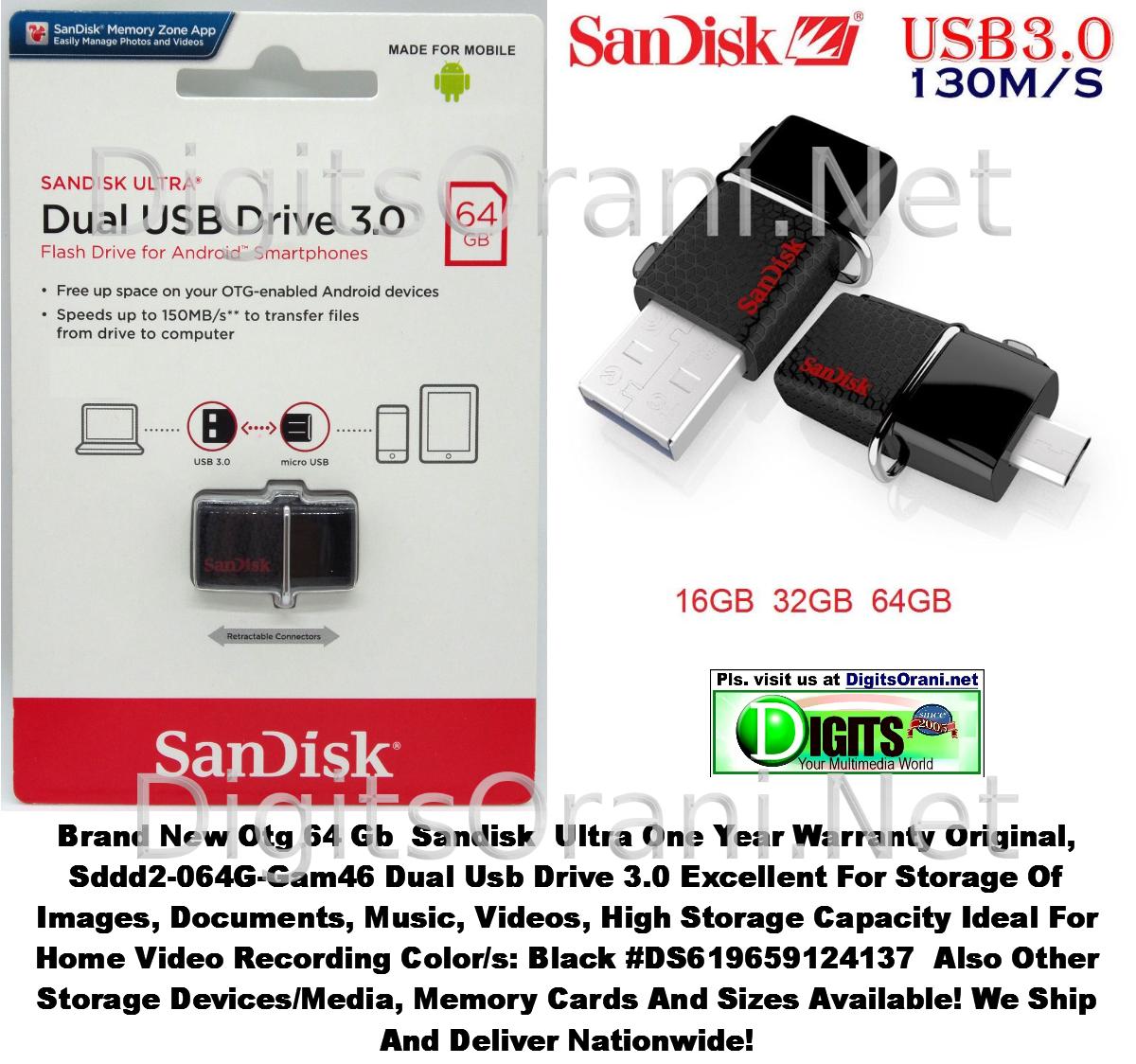 Original Memory Otg 64gb Sandisk Ultra Dual Usb Drive 30 Sddd2 064g Type C 32gb Mgctlbxnmzp Mgctlbxv525 Mgctlbxlc