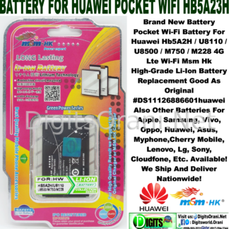 Battery For Huawei Hb5V1 With Y511/Y300/T8833 High-Grade Li
