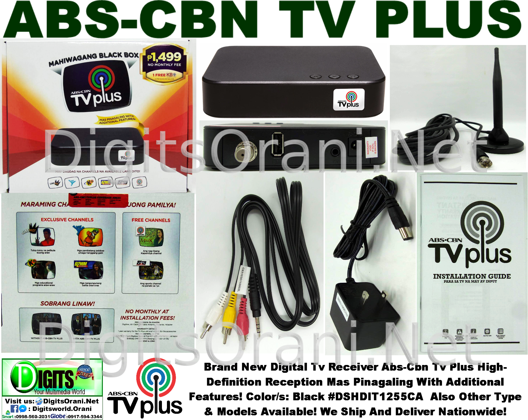 Abs-Cbn Tv Plus High-Definition Reception Ang Daming Channels At Mas ...