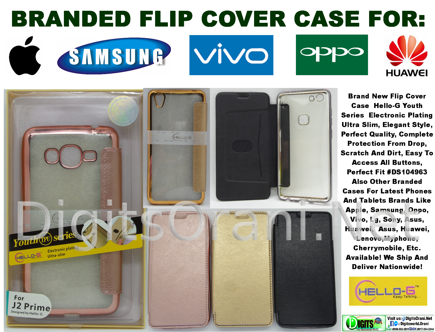 Flip Cover Case For Oppo A83 Alibaba Nice Series Electronic Plating, Ultra  Slim #Ds4804567910675