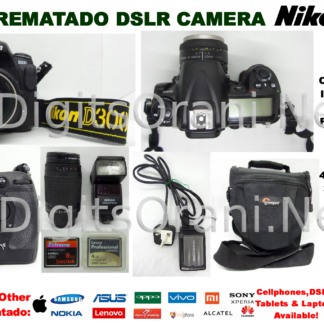 Original Rematado Dslr Camera Nikon D3100 12 3-Mp Dx-Format Cmos
