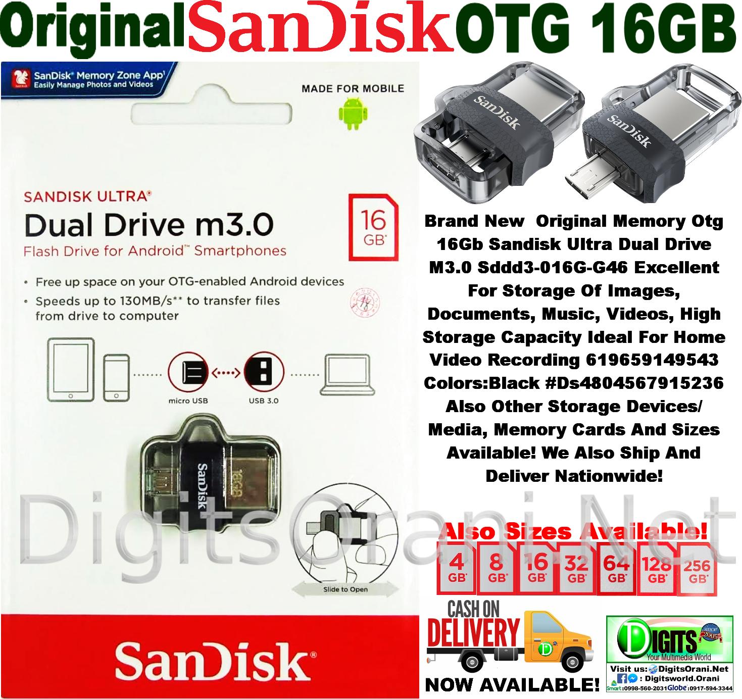 Harga Dan Spesifikasi Sandisk Otg 32gb Ori Termurah 2018 New Vario 110 Esp Cbs Iss Glam Red Pemalang Original Memory 16gb Ultra Dual Drive M30 Sddd3 016g Touch To Zoom