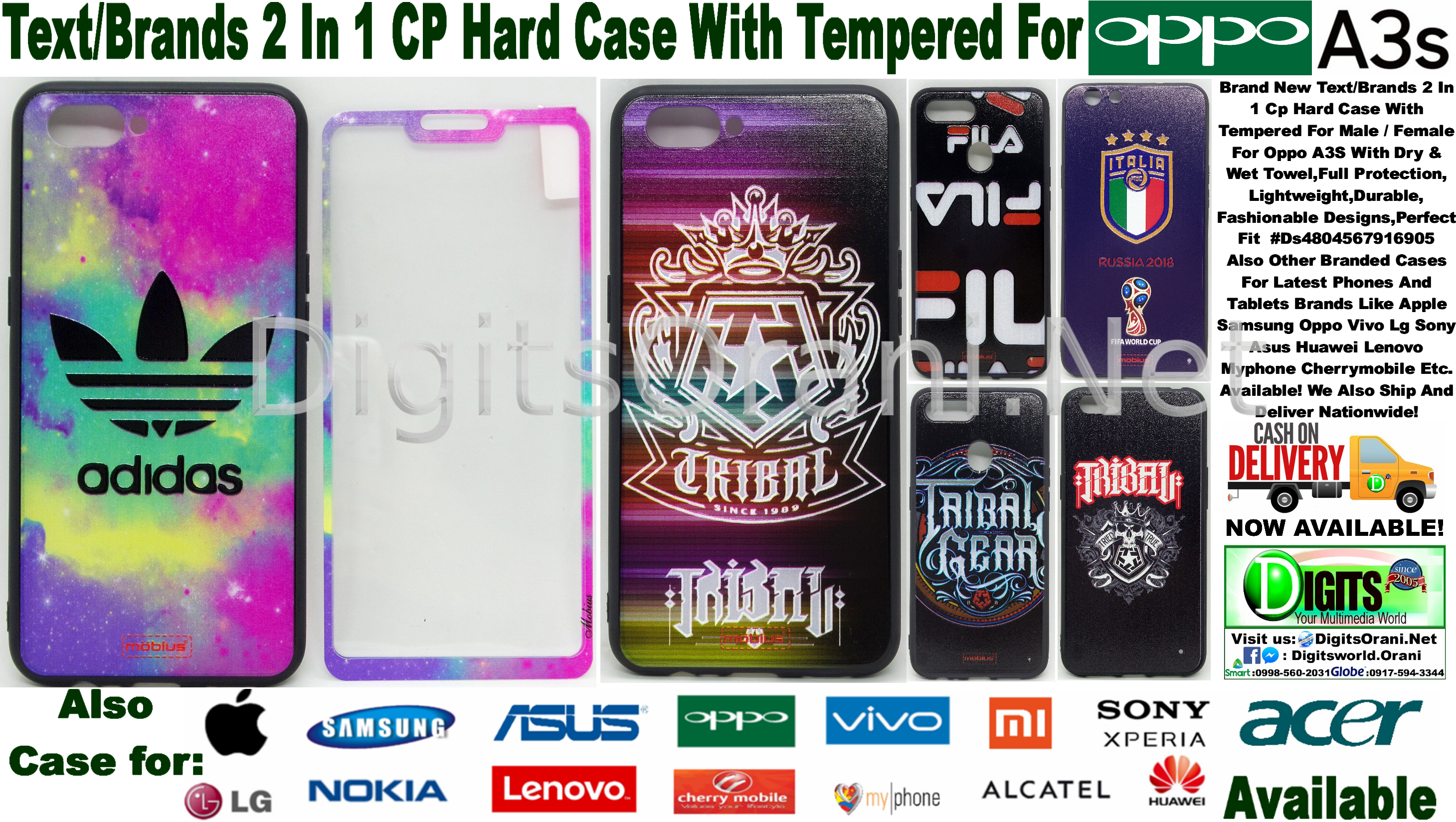 Text Brands 2 In 1 Cp Hard Case With Tempered For Male Female Headset Bluetooth Professional Samsung Sony Asus Xiaomi Oppo Lenovo Vivo Touch To Zoom