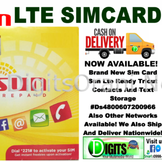 Sim Card Globe 4G Lte Contacts And Text Storage