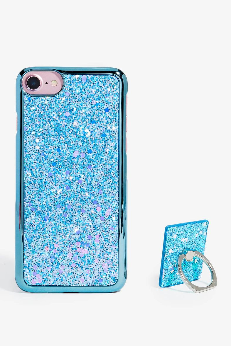 Glitter Design Case With Ring Stand For Female For Vivo V15 Pro Shock  Absorbing,Perfectly Fitted,Protects Your Phone From Dust,Dirt,Drops &