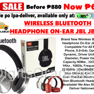 Wireless Bluetooth Headphone On-Ear Jbl St-280 Compatible For All